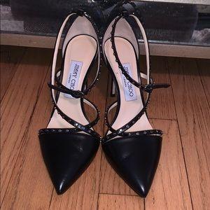 Black Tiff 100 Jimmy choo heel